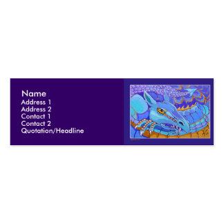 Profile Card Template - Dragon Business Card