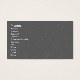 Profile Card Template - Grey Marble Texture