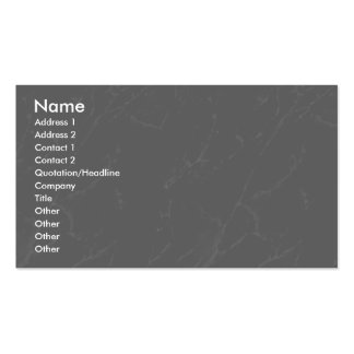 Profile Card Template - Grey Marble Texture Pack Of Standard Business Cards