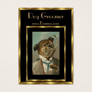 Profile Card Vintage Dog Groomers 2