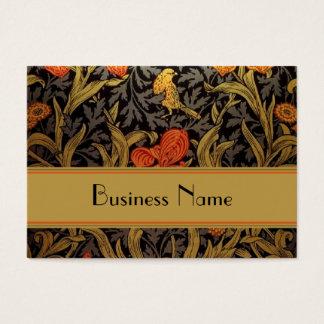 Profile Card Vintage Print William Morris