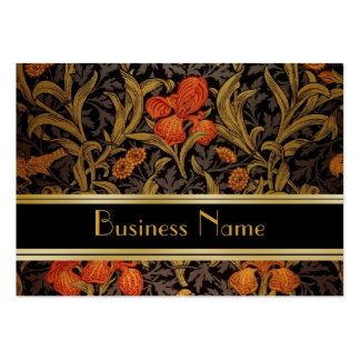 Profile Card Vintage Print William Morris 2 Business Cards