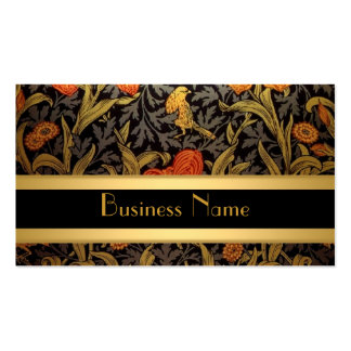 Profile Card Vintage Print William Morris Business Cards