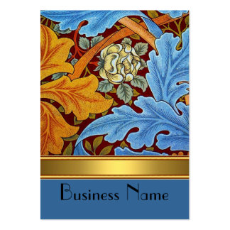 Profile Card Vintage Print William Morris Gold Pack Of Chubby Business Cards