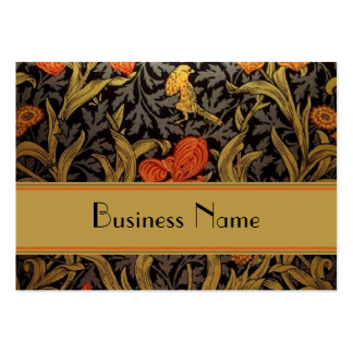 Profile Card Vintage Print William Morris Pack Of Chubby Business Cards