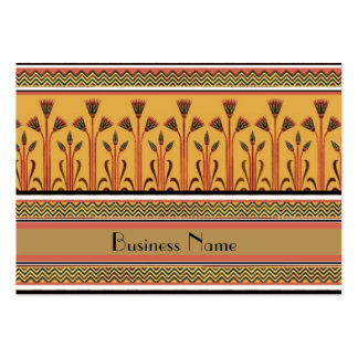 Profile Card Vintage Victorian Gold Beige Black Pack Of Chubby Business Cards