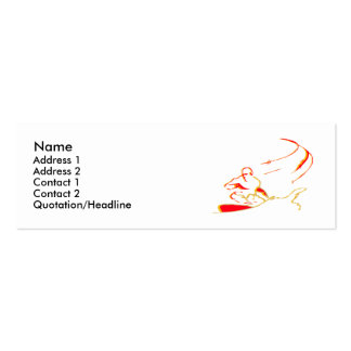 Profile cards... business cards