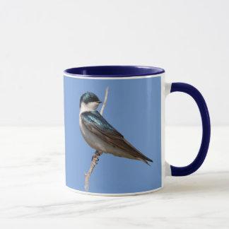 Profile of a Male Tree Swallow in the Sun Mug