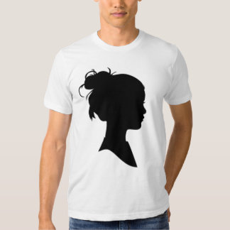 Profile of a Woman Tshirts