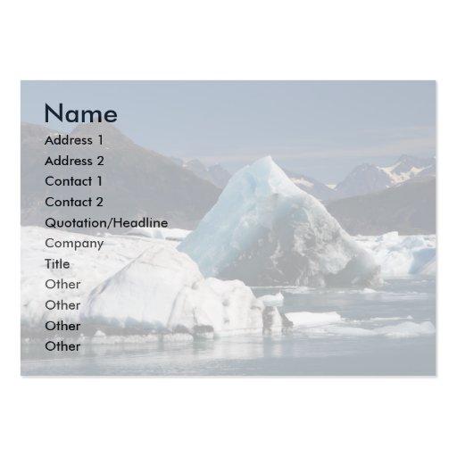 profile or business card, seascape