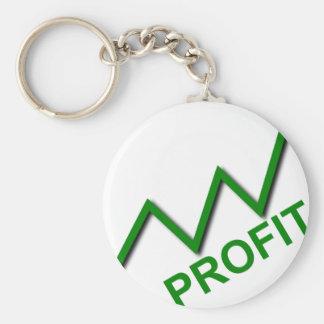 Profit Curve Key Ring