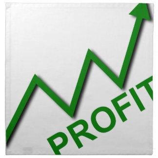 Profit Curve Napkin