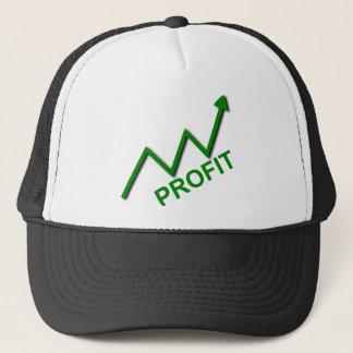 Profit Curve Trucker Hat