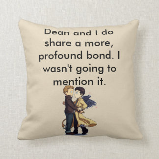 Profound Bond Throw Pillow. Throw Pillow