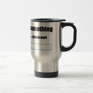 profound thinking takes time travel mug