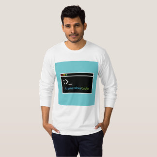 Programmer Or Coder T-Shirt Related To Terminal