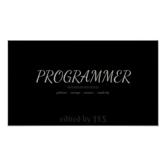 PROGRAMMERS POSTER