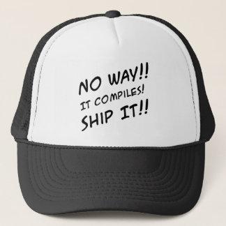 Programming Humor Cap