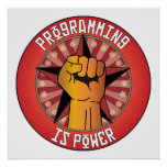 Programming Is Power Poster