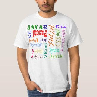 Programming Language Shirt