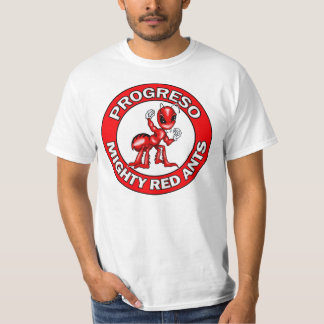 Progreso Red Ants Round Emblem T-Shirt