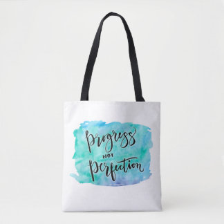 Progress Not Perfection Tote