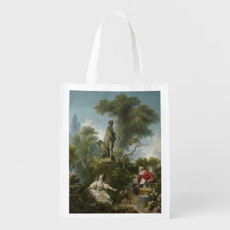 Progress of Love: The Rendezvous by Fragonard Market Totes