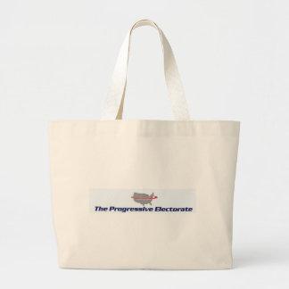 Progressive Electorate Products Large Tote Bag