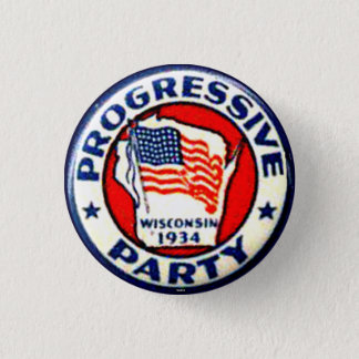 Progressive Party - Button