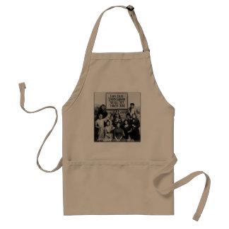 Prohibition ladies apron