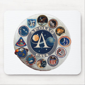 Project Apollo: The Composite Logo Mouse Pad