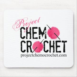 Project Chemo Crochet mousepad