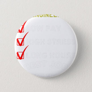 project engineer 6 cm round badge