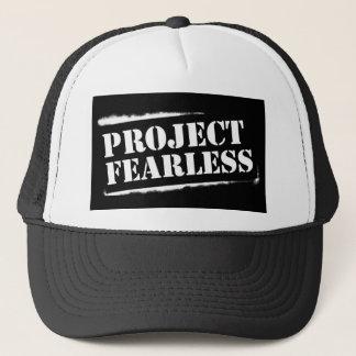 Project Fearless BLACK Trucker Trucker Hat