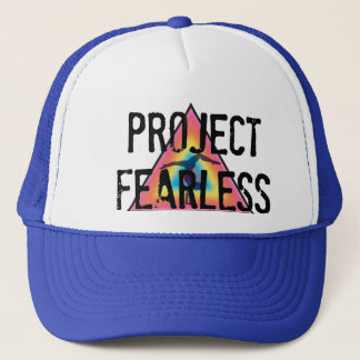 Project Fearless BLUE Trucker Trucker Hat