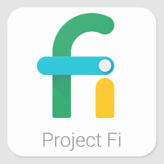 Project Fi Stickers/Decals Square Sticker