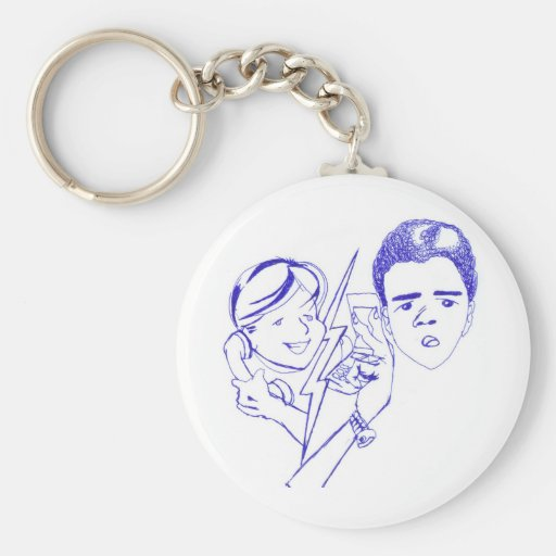 Project illustrates cap2 phone call gay key chains