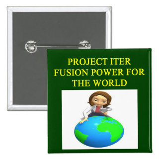 project iter nuclear fusion reactor buttons