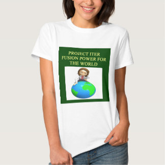 project iter nuclear fusion reactor t-shirts
