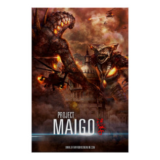 Project Maigo Poster by Cheung Chung Tat