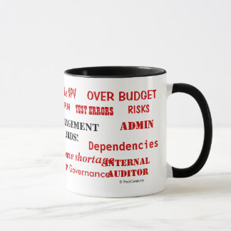 Project Management Swear Words Funny But Annoying Mug