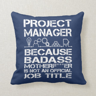 PROJECT MANAGER CUSHION