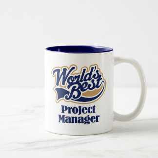 Project Manager Gift Two-Tone Coffee Mug
