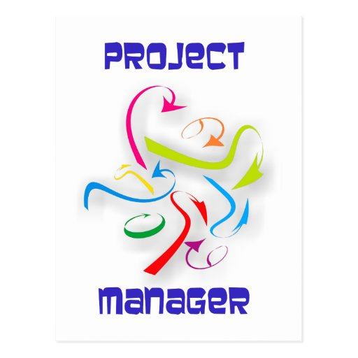 Project manager project managers post cards