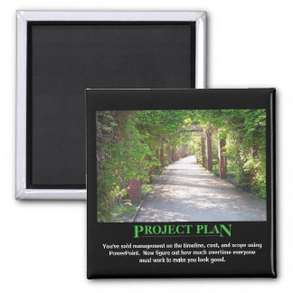 Project Plan - just make it match PowerPoint Magnet
