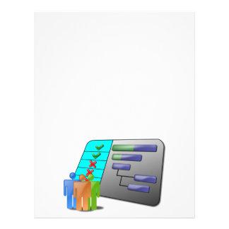 project_schedule_Vector BUSINESS OFFICE WORK TEAM Custom Flyer