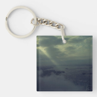 Projection Key Ring