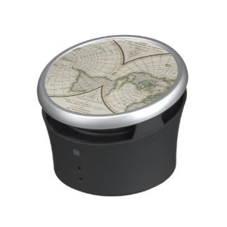 projection showing magnetic declination bluetooth speaker