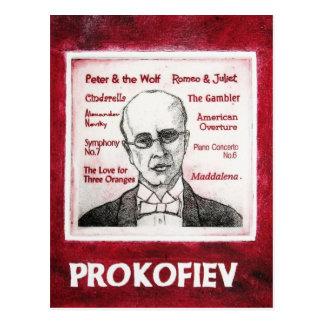 PROKOFIEV postcard