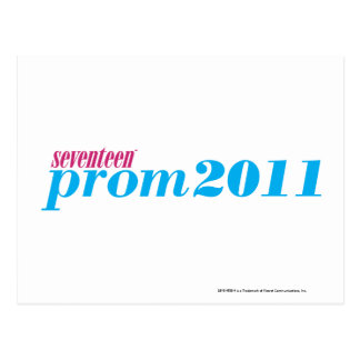 Prom 2011 - Aqua Postcard